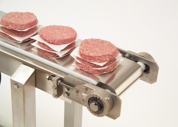Mantenimiento de la seguridad alimentaria con las cintas transportadoras de acero inoxidable