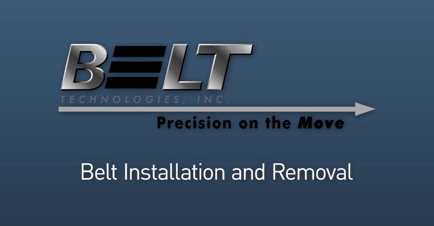 Tutorial en video: Instalación y remoción de la cinta de metal